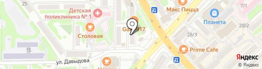 Альфа Принт на карте Петропавловска-Камчатского