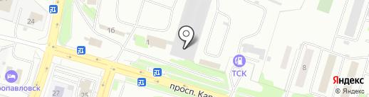 КАМ-ТРАКТ на карте Петропавловска-Камчатского