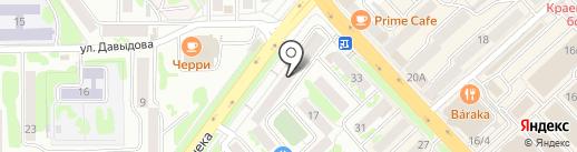РЕГИОН на карте Петропавловска-Камчатского