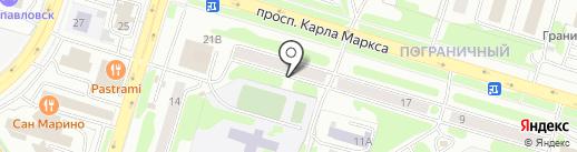 Нотариус Раковская М.В. на карте Петропавловска-Камчатского