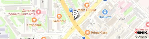 Adidas Perfomanсe на карте Петропавловска-Камчатского