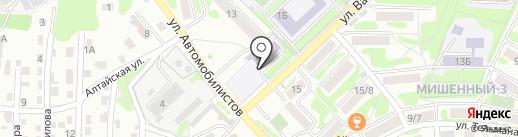 Камчатский центр детского и юношеского технического творчества на карте Петропавловска-Камчатского