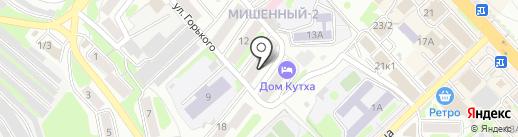 Голд сити на карте Петропавловска-Камчатского