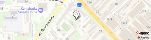 Центр моды на карте Петропавловска-Камчатского
