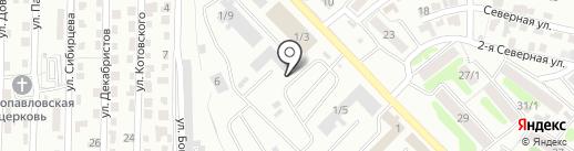 MAXIMA на карте Петропавловска-Камчатского