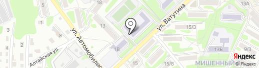 Средняя общеобразовательная школа №43 на карте Петропавловска-Камчатского