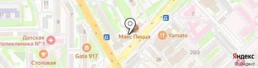 Калейдоскоп на карте Петропавловска-Камчатского