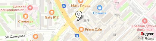 Молокозавод Петропавловский на карте Петропавловска-Камчатского
