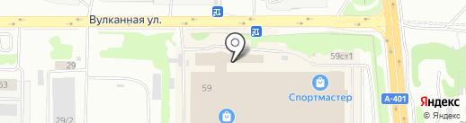 Помощь при ДТП на карте Петропавловска-Камчатского