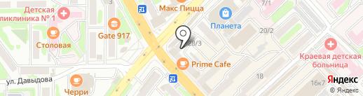 Галант для детей на карте Петропавловска-Камчатского
