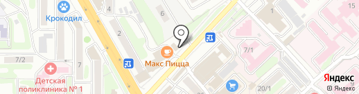 Полифлора на карте Петропавловска-Камчатского