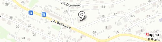 Цербер на карте Петропавловска-Камчатского