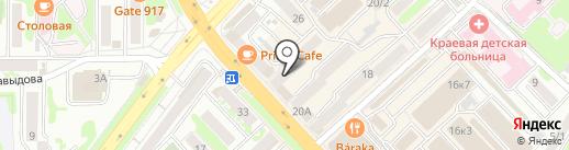 Салон финской обуви на карте Петропавловска-Камчатского