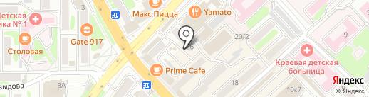 Банкомат, Восточный экспресс банк, ПАО на карте Петропавловска-Камчатского