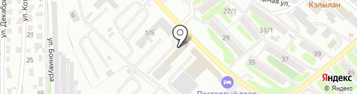 Автоцентр 1400 на карте Петропавловска-Камчатского