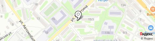 Визит Камчадала на карте Петропавловска-Камчатского
