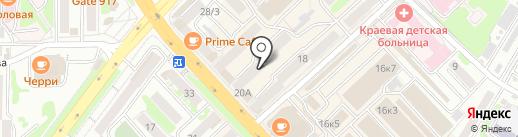 Адвокатский кабинет Шеремет О.И. на карте Петропавловска-Камчатского