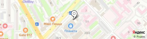 Авторадио Камчатка, FM 104.5 на карте Петропавловска-Камчатского