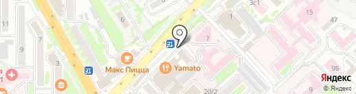ДокаПринт на карте Петропавловска-Камчатского