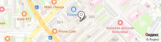 МОТОЦЕНТР на карте Петропавловска-Камчатского