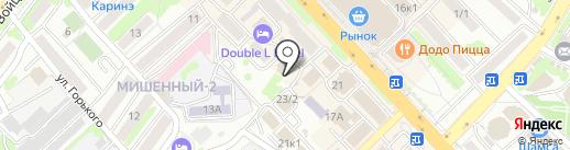 КамчатскЭнерго на карте Петропавловска-Камчатского