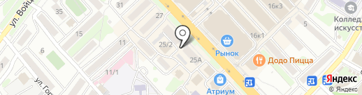 Юридическая контора Христолюбовой И.В. на карте Петропавловска-Камчатского