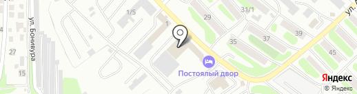 Галерея ВИН на карте Петропавловска-Камчатского