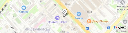 ЖКХ Контроль, НП на карте Петропавловска-Камчатского