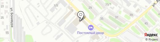 Планета Потолков & Света на карте Петропавловска-Камчатского