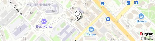 Мастерская по ремонту одежды на карте Петропавловска-Камчатского