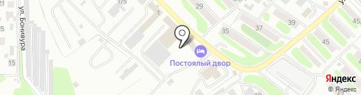 Интеграл на карте Петропавловска-Камчатского