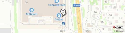 Пегас Туристик на карте Петропавловска-Камчатского