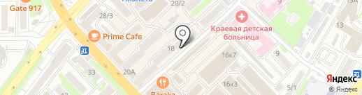 Армада-Карго на карте Петропавловска-Камчатского