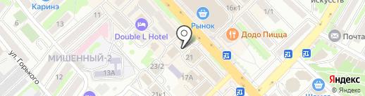 Шторы на карте Петропавловска-Камчатского