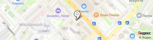 Bona Ladies на карте Петропавловска-Камчатского