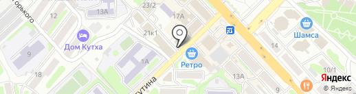Управление Федеральной службы государственной регистрации на карте Петропавловска-Камчатского