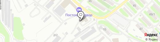 Камтерра на карте Петропавловска-Камчатского