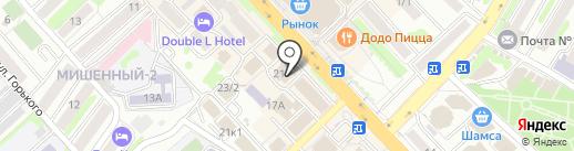 Олимп-Строй на карте Петропавловска-Камчатского
