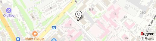 Верона-мебель на карте Петропавловска-Камчатского