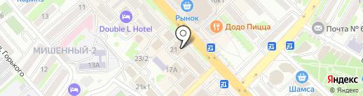АВС на карте Петропавловска-Камчатского