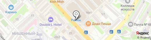АВС-Фармация на карте Петропавловска-Камчатского