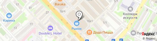 Чайная сказка на карте Петропавловска-Камчатского