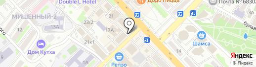 РЕАЛНЕДВИЖИМОСТЬ на карте Петропавловска-Камчатского