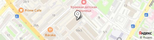 Магазин товаров для дома на карте Петропавловска-Камчатского