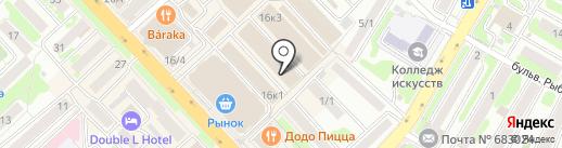 Хлопковый рай на карте Петропавловска-Камчатского