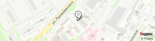 Камчатская Федерация Сноуборда на карте Петропавловска-Камчатского
