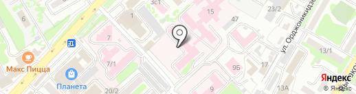 Камчатский краевой онкологический диспансер на карте Петропавловска-Камчатского