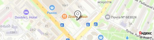 Первое туристическое агентство на карте Петропавловска-Камчатского