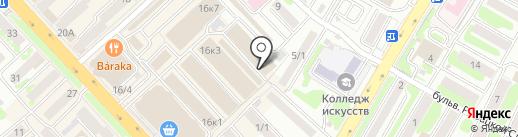 Сеть мастерских по реставрации одежды на карте Петропавловска-Камчатского