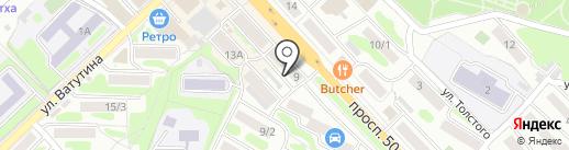 Анжели на карте Петропавловска-Камчатского